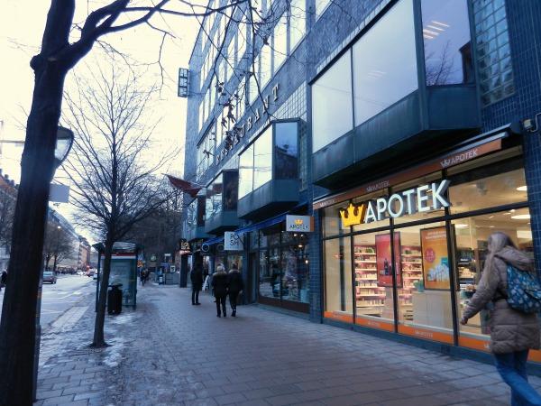 Sveavägen, Stockholm.