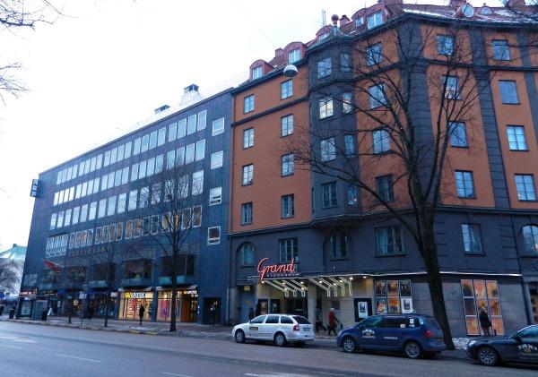 Grand, Stockholm. Waar Olof Palme zijn laatste film zag.