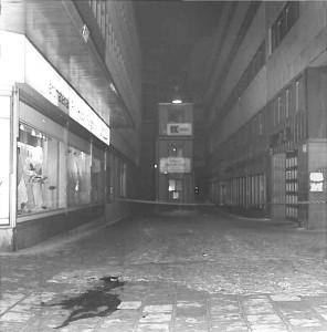 Moord op Olof Palme, Tunnelgatan