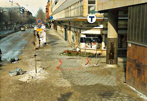 Moordplaats Olof Palme