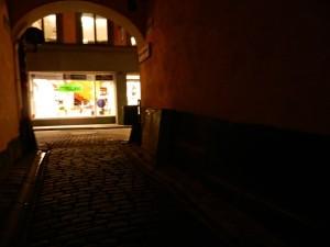 Om de hoek bij Olof Palme