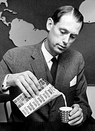 Hans Rausing in 1963.